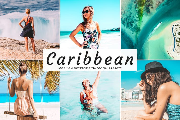 Thumbnail for Caribbean Mobile & Desktop Lightroom Presets