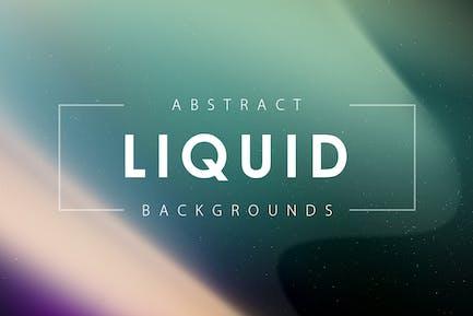 Liquid Shapes Backgrounds