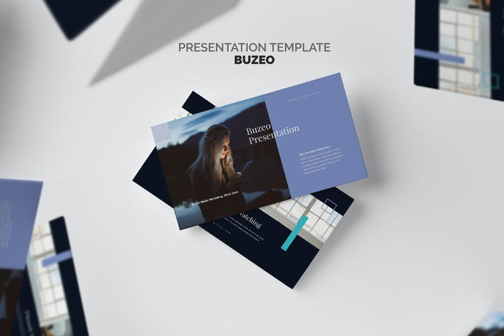 Thumbnail for Buzeo : Socmed Marketing Pitch Deck Keynote