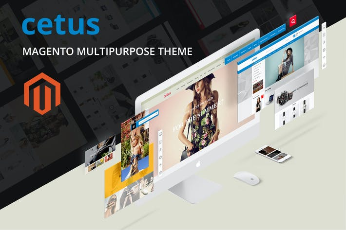 Thumbnail for Cetus - Multipurpose Magento Theme