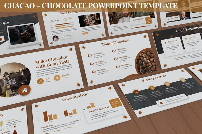 Thumbnail for Chocao - Chocolate Powerpoint Template