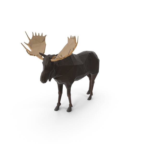 Thumbnail for Low Poly Moose