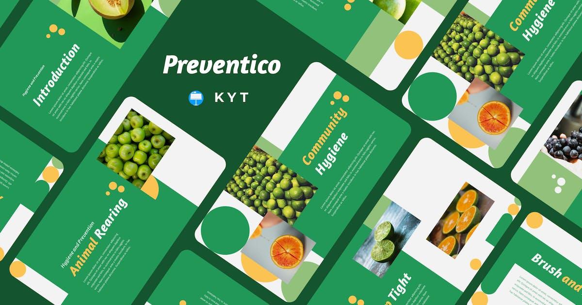 Download PREVENTICO - Hygiene and Prevention Keynote Templa by inipagi