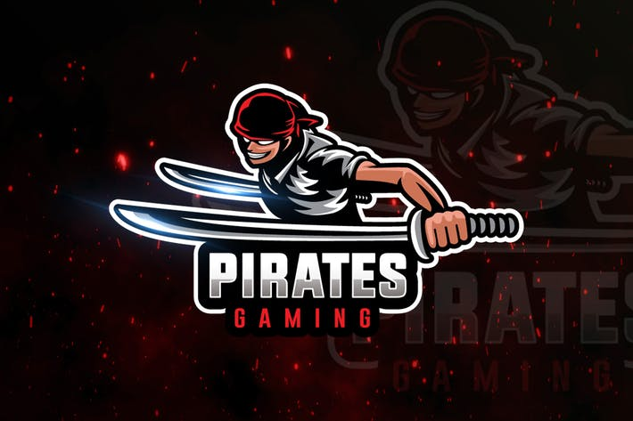 Thumbnail for Pirates Gaming Logo