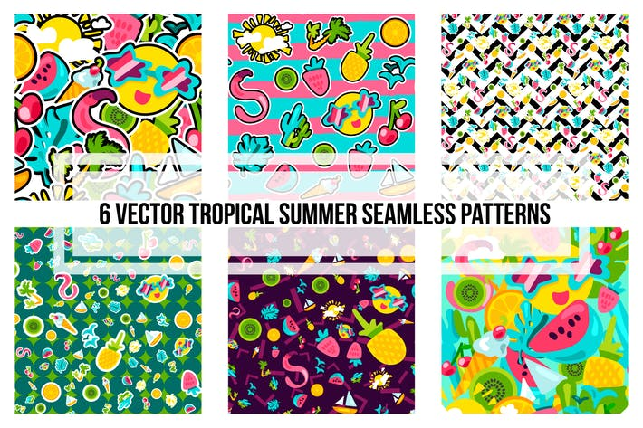 Thumbnail for Tropical Summer Patterns
