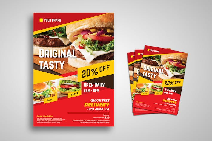 Thumbnail for Burger Promo Flyer