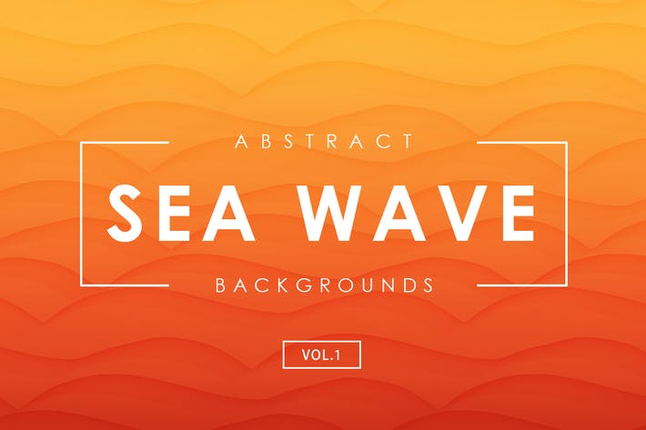 Thumbnail for Sea Wave Abstract Backgrounds Vol.1