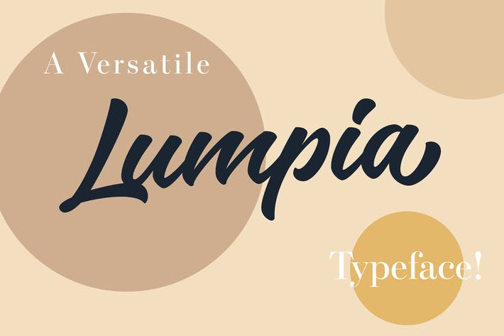 Thumbnail for Lumpia Brush Script