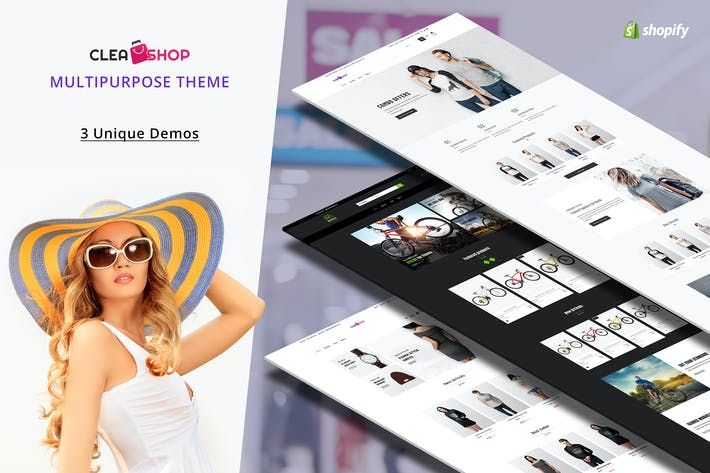 Thumbnail for Clean Shop - Multipurpose Shopify Theme