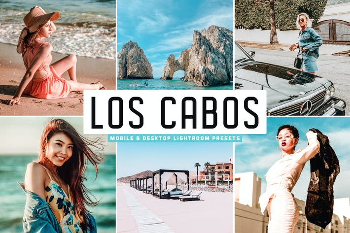 Thumbnail for Los Cabos Mobile & Desktop Lightroom Presets