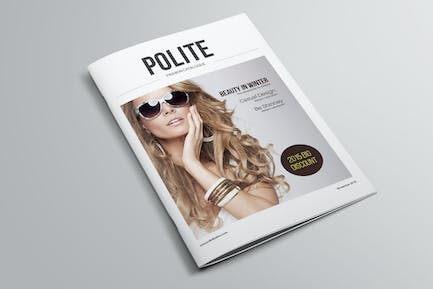 InDesign Product Catalogue Template