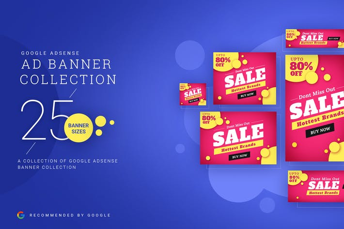 Thumbnail for Ad Banner Collection- 02 Google Adsense Sizes