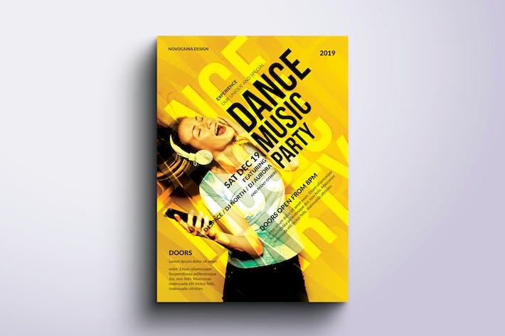 Thumbnail for Dance Music Poster & Flyer Design