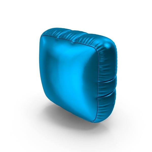 Thumbnail for Foil Balloon Period Blue
