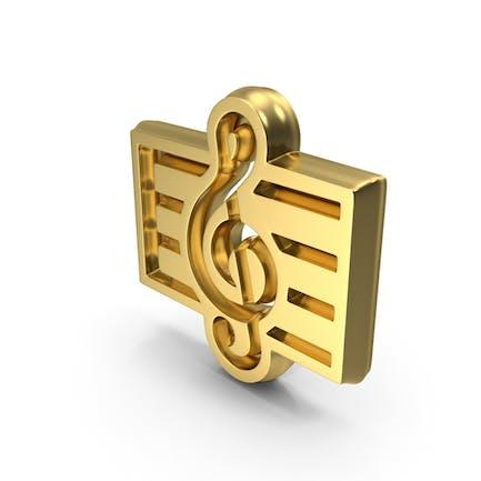 Musikpartitur-Symbol