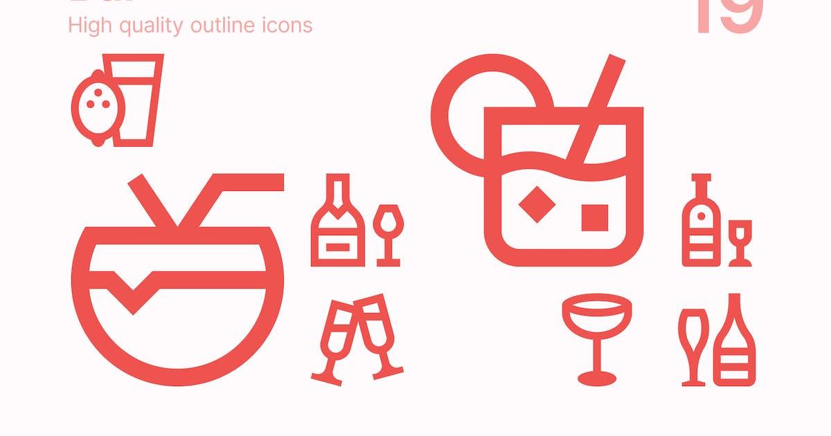 Download Bar Icons by polshindanil