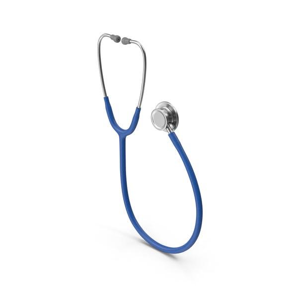 Stethoskop Blau