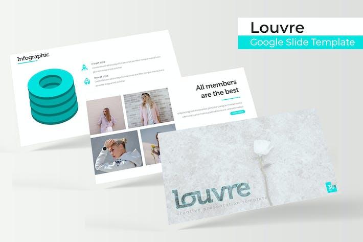 Thumbnail for Louvre - Plantilla de Presentación de Google