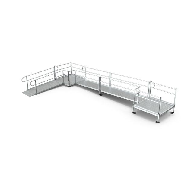 Aluminium Modular Wheelchair Ramp Set