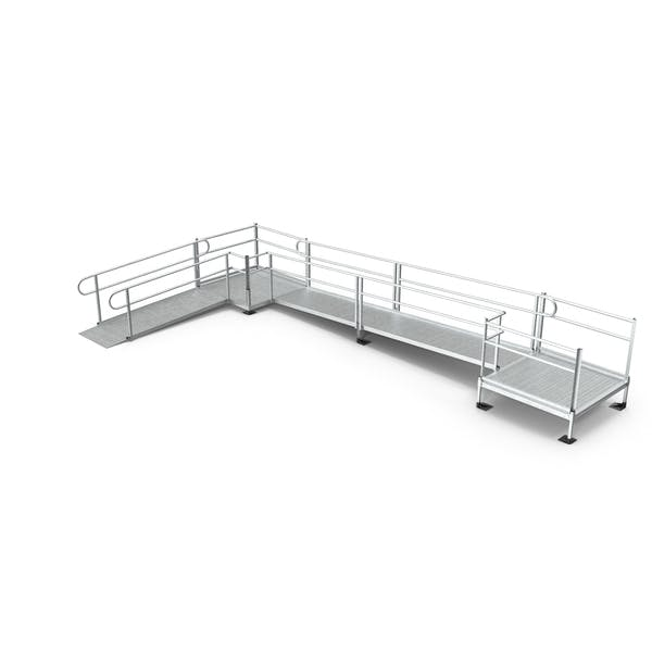 Aluminium Modular Wheelchair Ramp Set