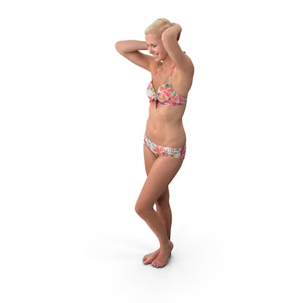 Swimsuit Woman Posed