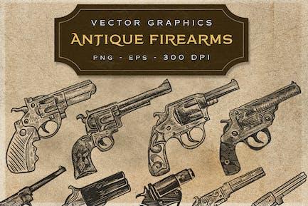 ANTIQUE FIREARMS - VIntage Graphics