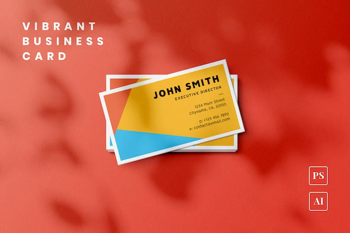 Thumbnail for Vibrant Business Card