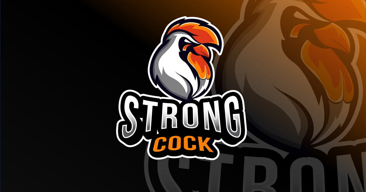 Download Strong Cock Esport Logo Template by IanMikraz