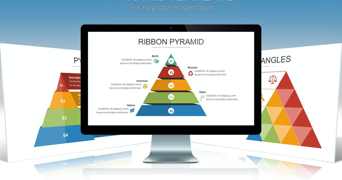Download Pyramid Keynote Template by Unknow