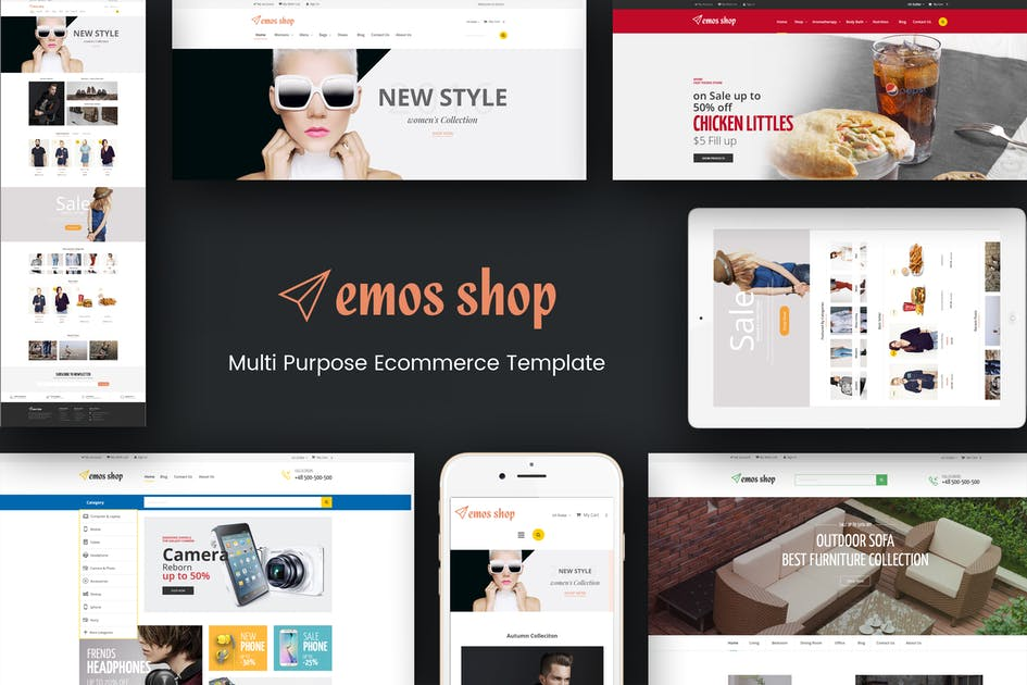 Download Emos - Multi Store Responsive Magento Theme by Plaza-Themes