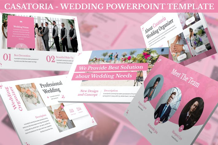 Cover Image For Casatoria - Wedding Keynote Template