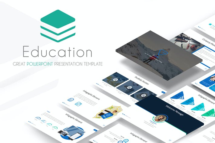 Thumbnail for Education - Powerpoint Template