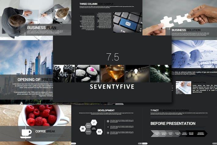 Thumbnail for Seventy 5 - Google Slides