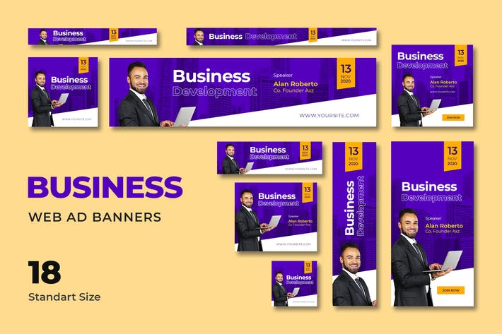 Thumbnail for Business Web Banner