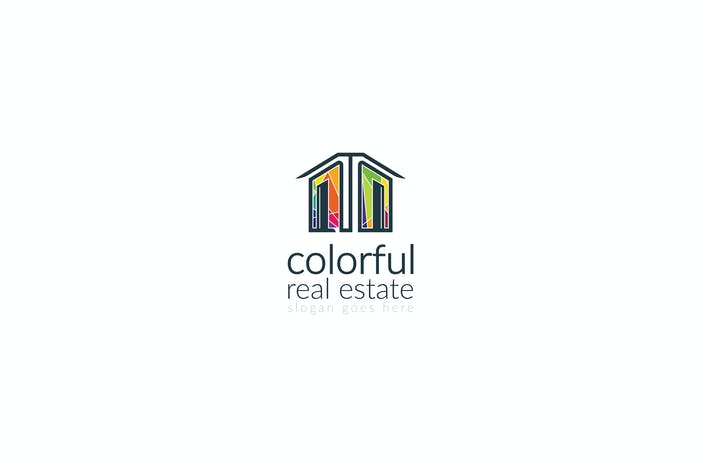 Thumbnail for Colorful Real Estate / Property Logo