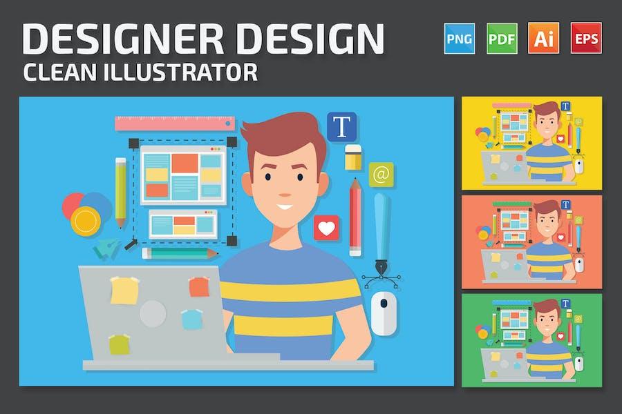 Designer-Entwurf
