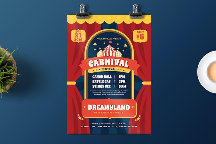 Thumbnail for Carnival Fest Flyer