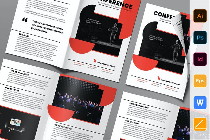 Thumbnail for Conference Brochure Bifold