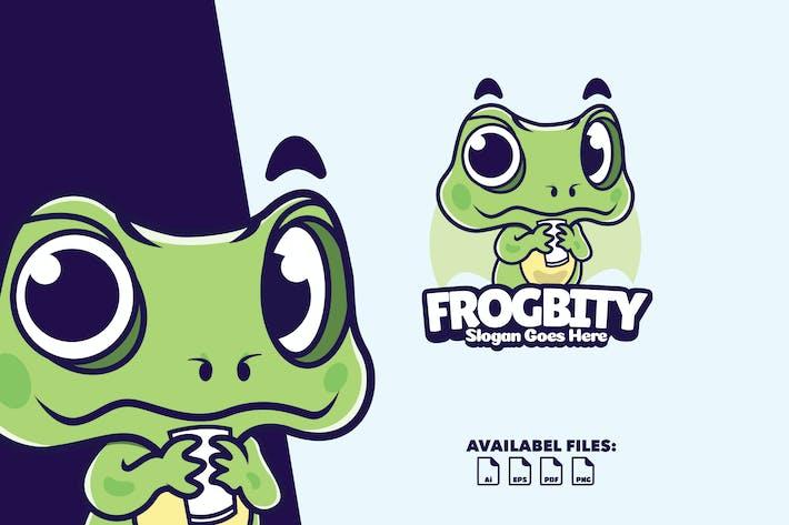 Thumbnail for Frogbity - Logo Mascot