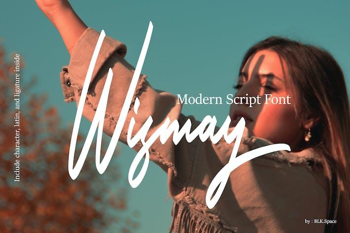 Thumbnail for Wismay - Police de script moderne