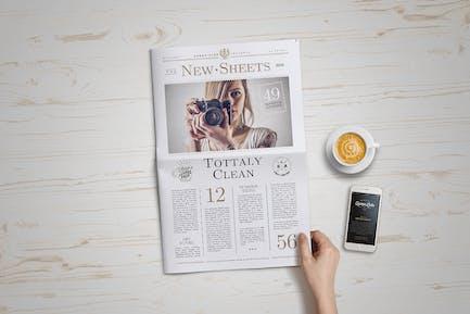 Newspaper Mock-Up v.4