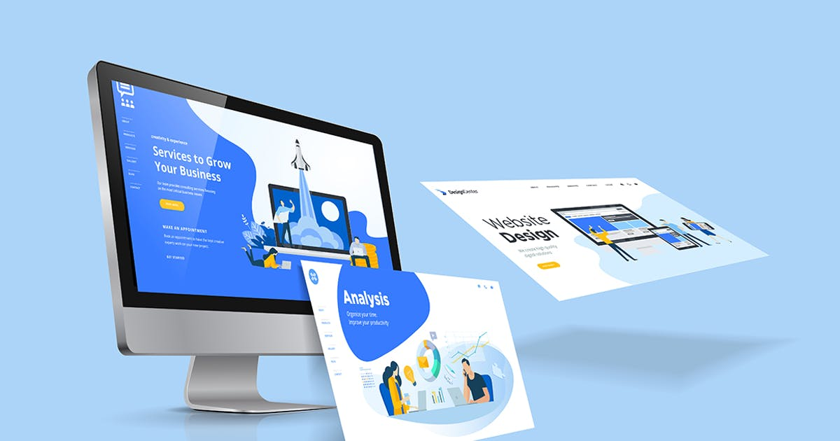 Download Web Design Template by PureSolution