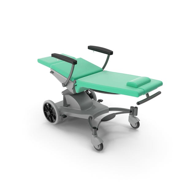 Multifunctional Transport Chair Unfolded