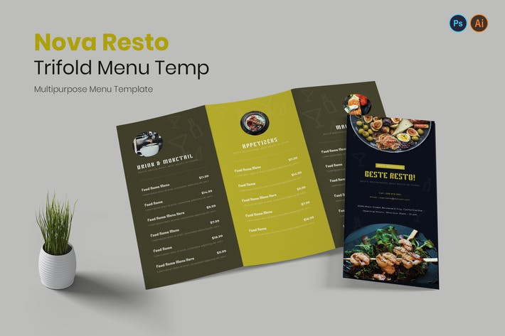 Thumbnail for Beste Restaurant Menu