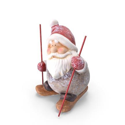 Decoración de Papá Noel