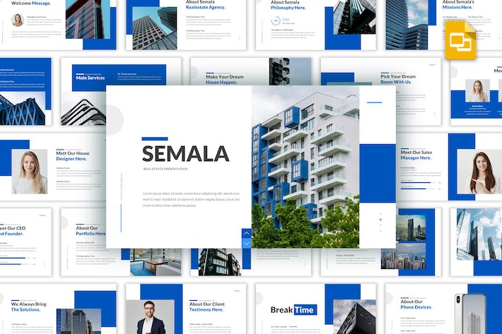 Thumbnail for Semala - Realestate PowerPoint Template