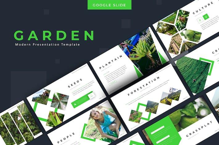 Thumbnail for Garden -  Google Slides Template