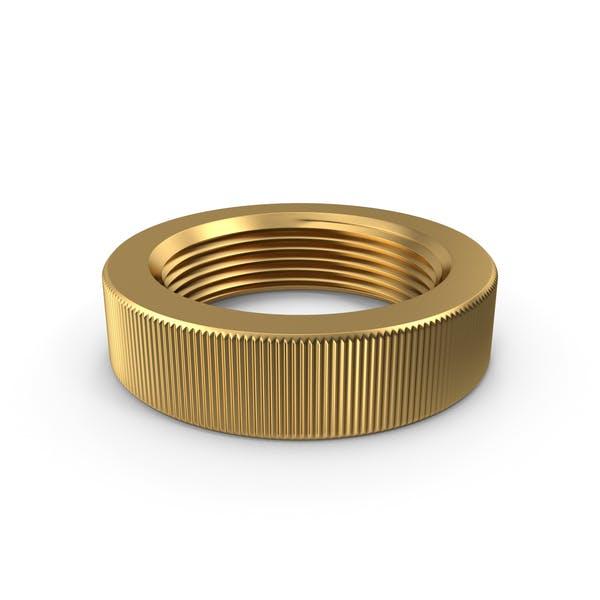 Knurled Nut Gold