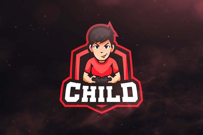 Child Sport and Esports Logo