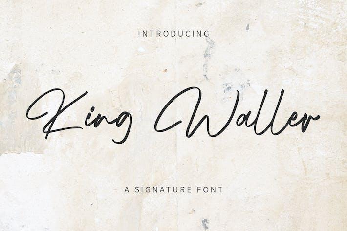 King Waller - Signature Font YR